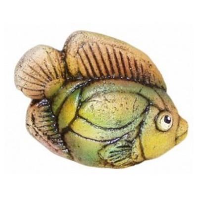 Статуэтка рыбка, шамот
