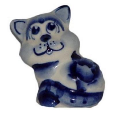 Фарфоровая фигурка кота
