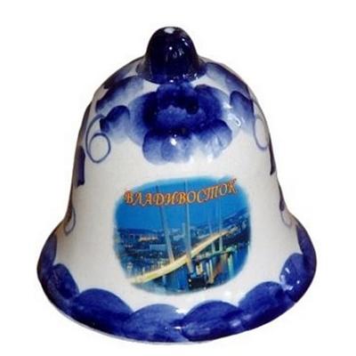 Колокольчик символикой Владивостока