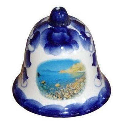 Гжельскй колокольчик с морем