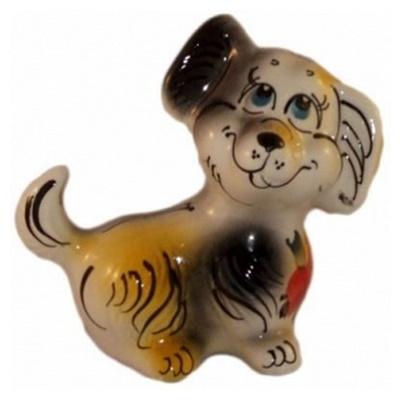 Собака из фарфора, символ 2018 года