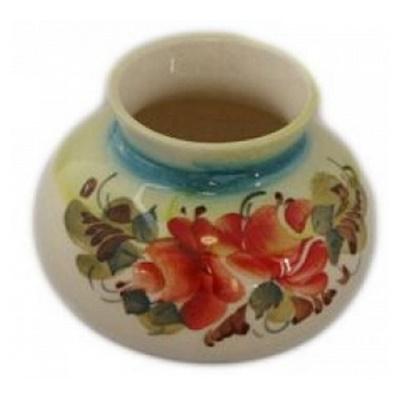 Цветная вазочка из фарфора