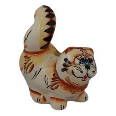 Фигурка кот с поднятым хвостом