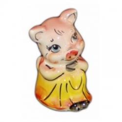 Хрюшка цветная 8 см., арт.2532