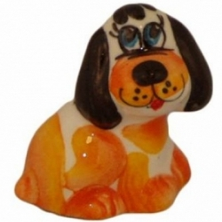 Собачка цветная, 4 см, арт 2021
