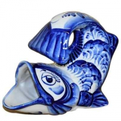"""Салфетница """"Рыба"""", арт. 9025, 12х15  см."""