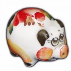Свинка малая цветная 3.6 см. арт.2592