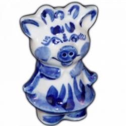 Свинка фарфоровая 7  см., арт.2588