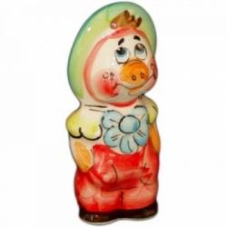 Поросенок фунтик цветной 10 см., арт.2557