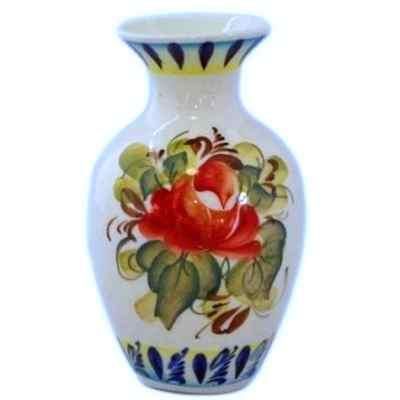 Цветная фарфоровая ваза