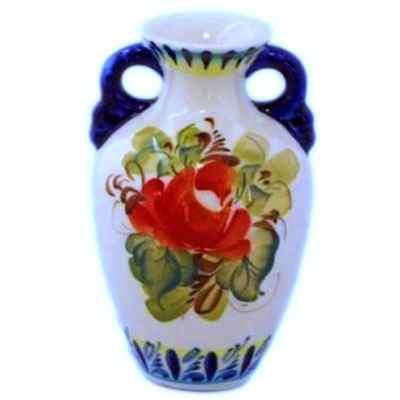 Фарфоровая ваза с ручками