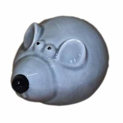Фарфоровый серый крысенок
