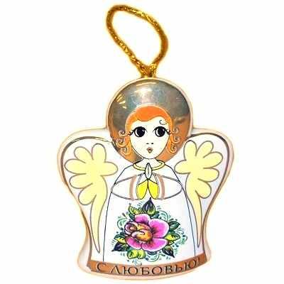 Колокольчик с ангелом