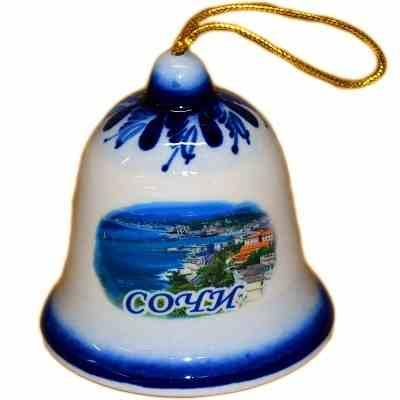 Колокольчик с символикой Сочи