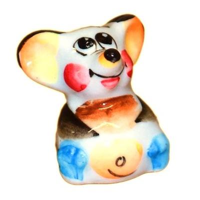 Сувенир мышонок из фарфора