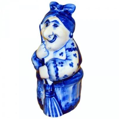 Баба-Яга гжель
