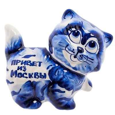 """Сувенир кот """"Привет из Москвы"""""""