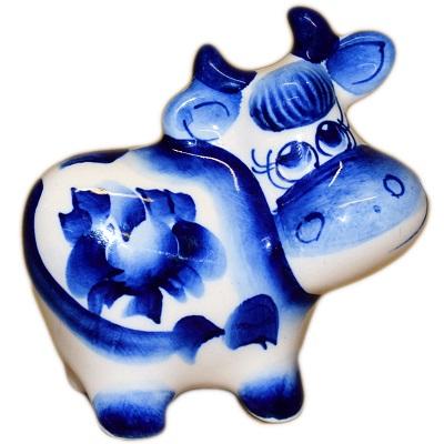 Гжельская корова