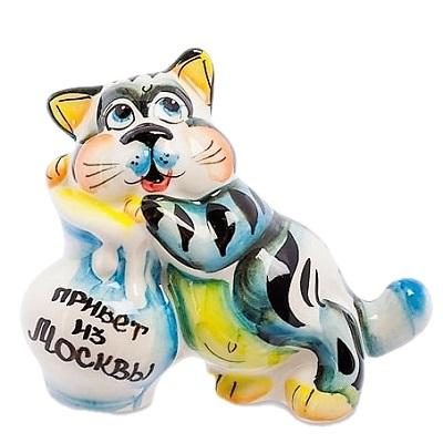 Сувенир кот с надписью