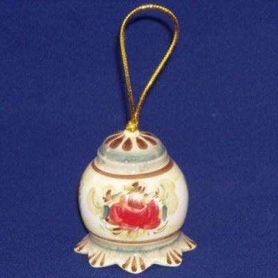 Колокольчик фарфоровый с росписью