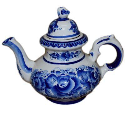 Гжельский чайник