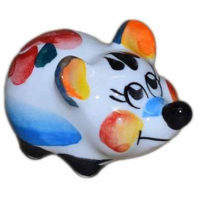 Мышь цветная 4.7 см., арт.2620