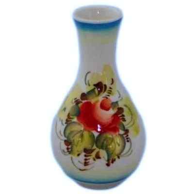 малая вазочка с росписью
