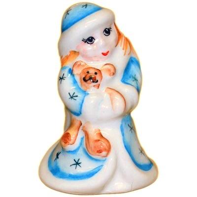 Снегурочка сувенир из фарфора