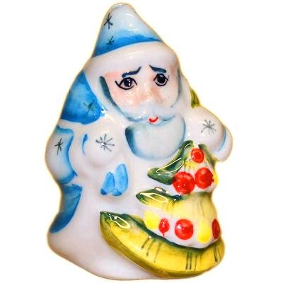 Дед Мороз фарфоровый