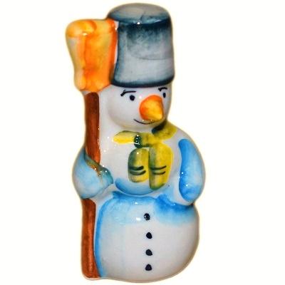 Фарфоровый Снеговик