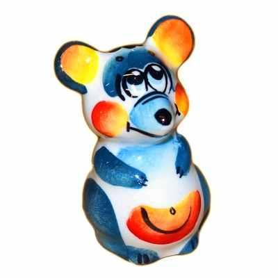 Мышка мальчик из фарфора