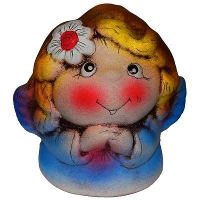 Фигурка ангела из керамики