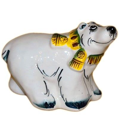 Сувенир белый медведь