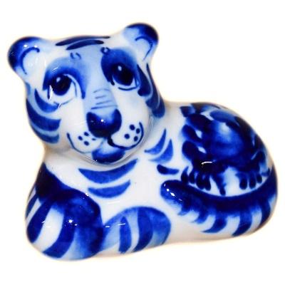 Тигр гжель