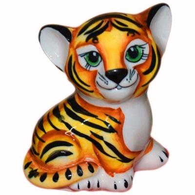 Тигр фарфоровый
