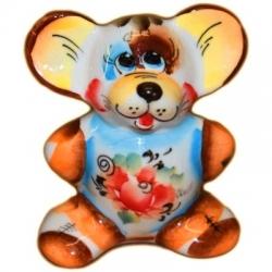 Фигурка мышь 7.5 см. арт.2618