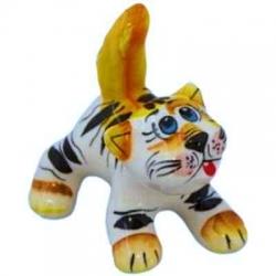 Кот цветной 8 см, арт 10108