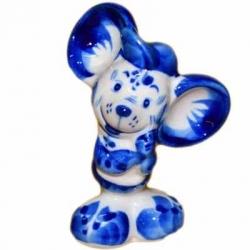 Мышь мальчик 9.5 см. арт.2615