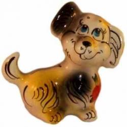 Собака цветная, 11.5 см, арт 2050