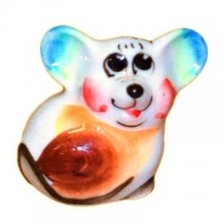 Мышонок цветной 3.7 см., арт.2659