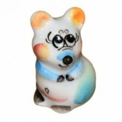 Мышка малая цветная 3.7 см., арт.2635