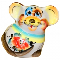 Мышь цветная 8 см., арт.2648