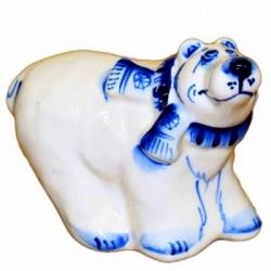 Белый медведь, 13 см., арт. 4118