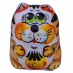 Кот цветной 4 см, арт 1087