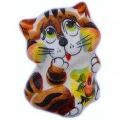 Кошка цветная 6.5 см, арт 1097