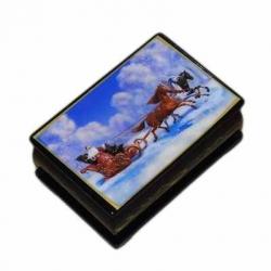 Шкатулка 6х9 см, арт. 2417