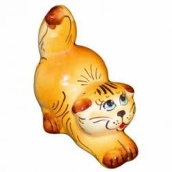 Кошка цветная 8.5 см, арт 1022