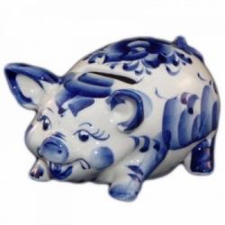 Свинья-копилка 14 см., арт.2560