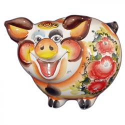 Свинка-копилка 18 см., арт.2524