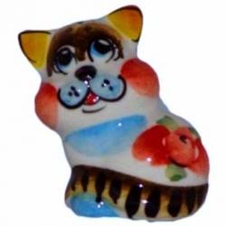 Кот цветной 4.5 см, арт 1062